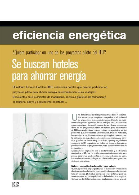 Ahorro de energia en hoteles