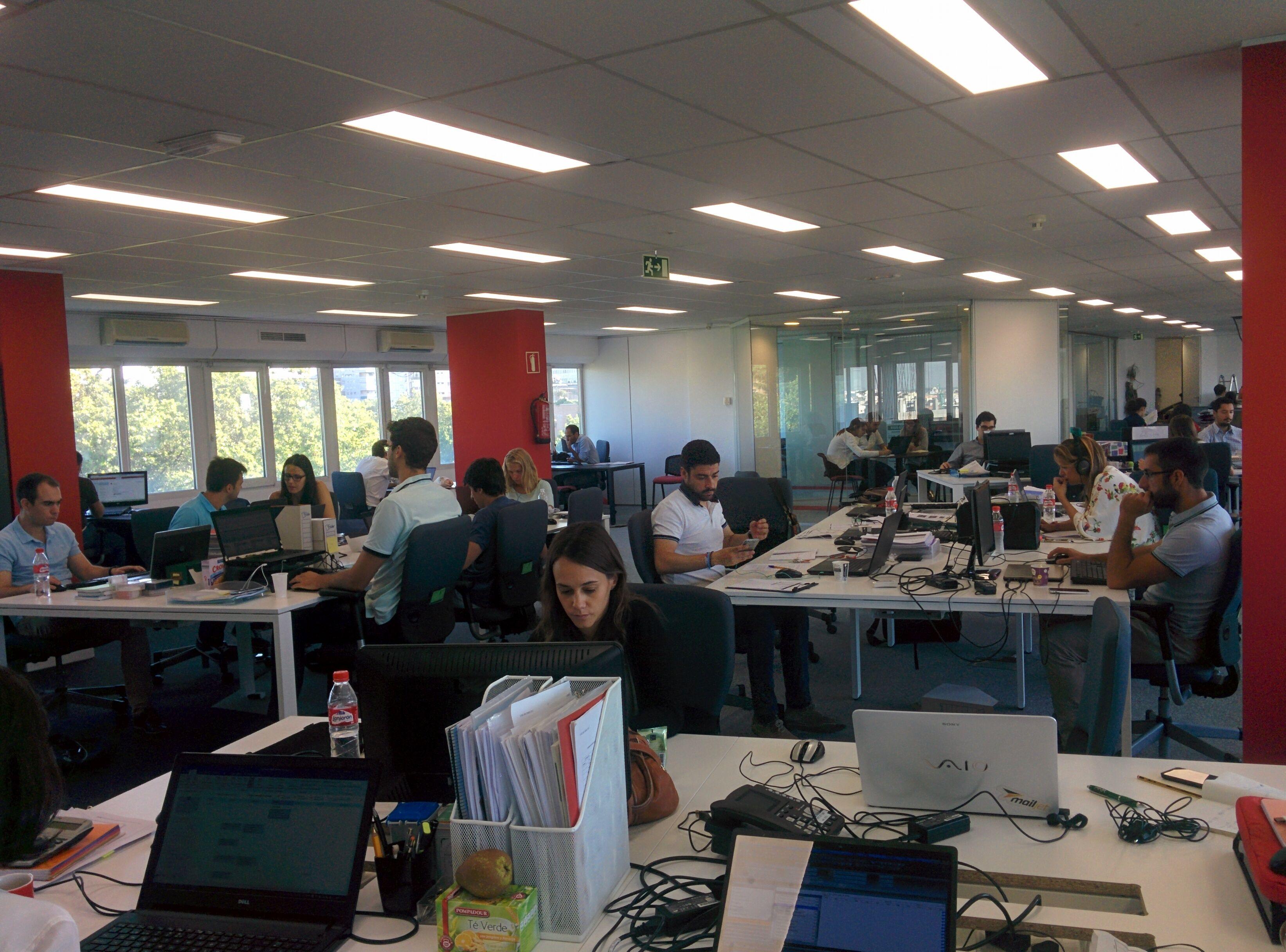 Creara nuevas oficinas en madrid y santiago de chile - Oficinas prosegur madrid ...