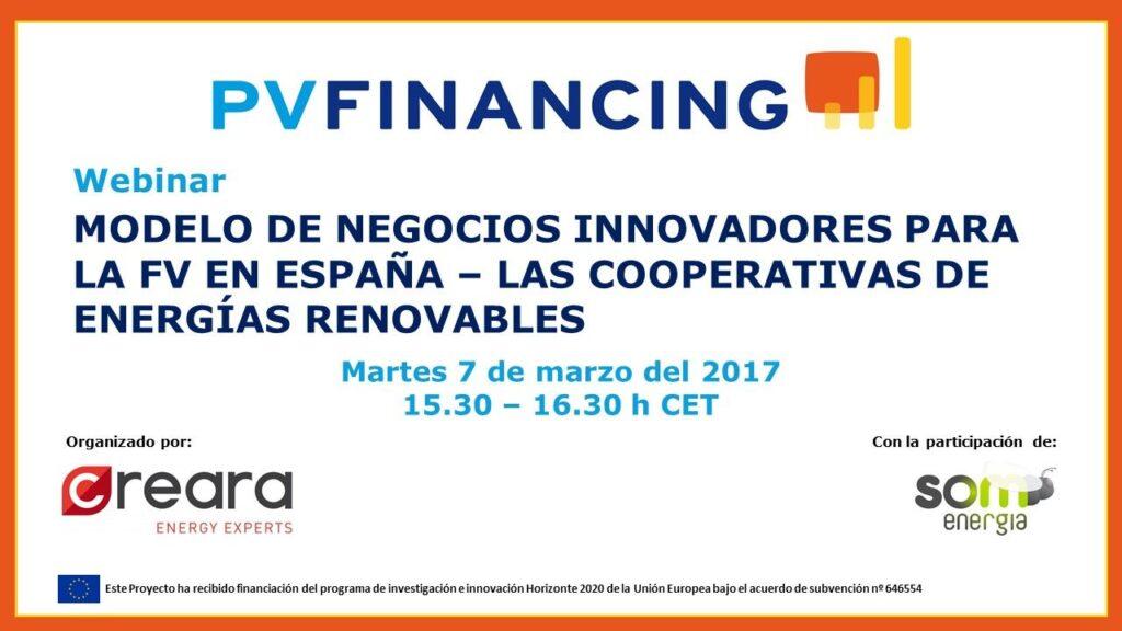 Invitación al webinar de PV Financing del 7 de marzo_def