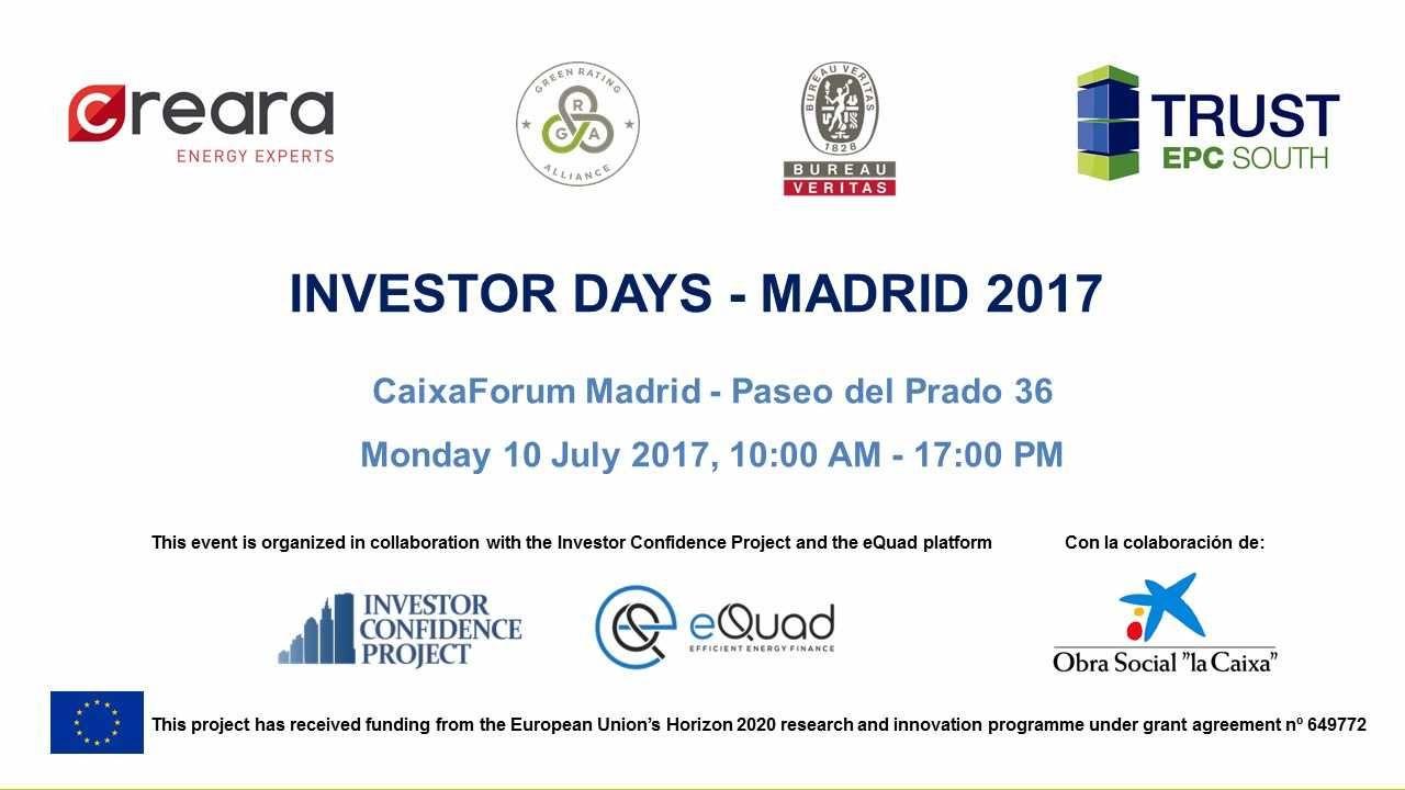 Contratos EPC y sus riesgos en la jornada Investor Days Madrid de TRUST EPC South