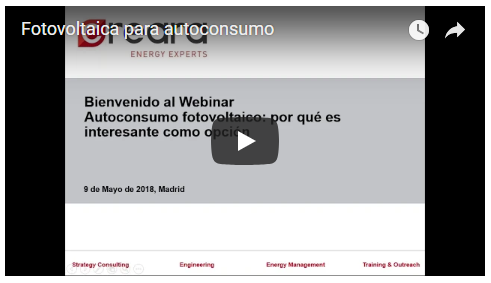 video webinar autoconsumo fotovoltaico