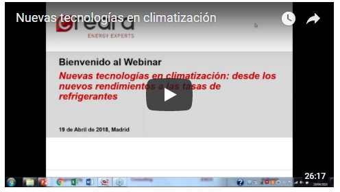 video webinar climatización